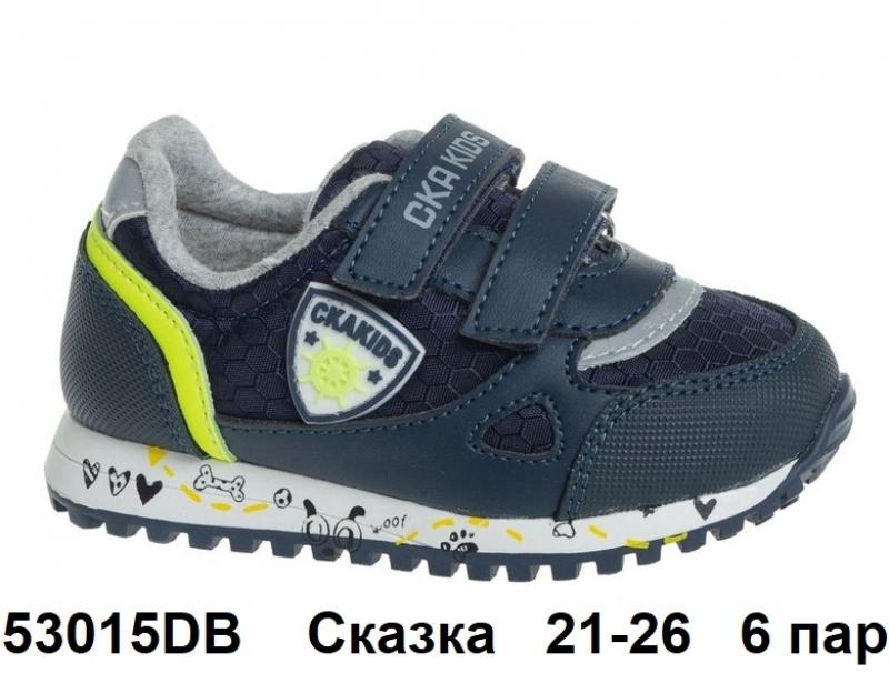 Сказка Кроссовки закрытые 53015DB 21-26