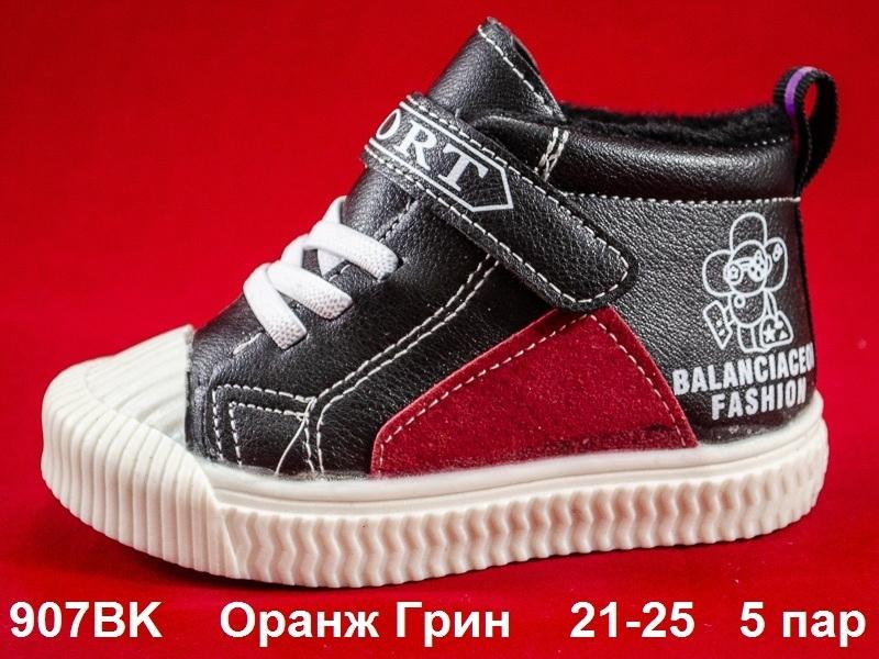 Оранж Грин Ботинки демисезонные 907BK 21-25