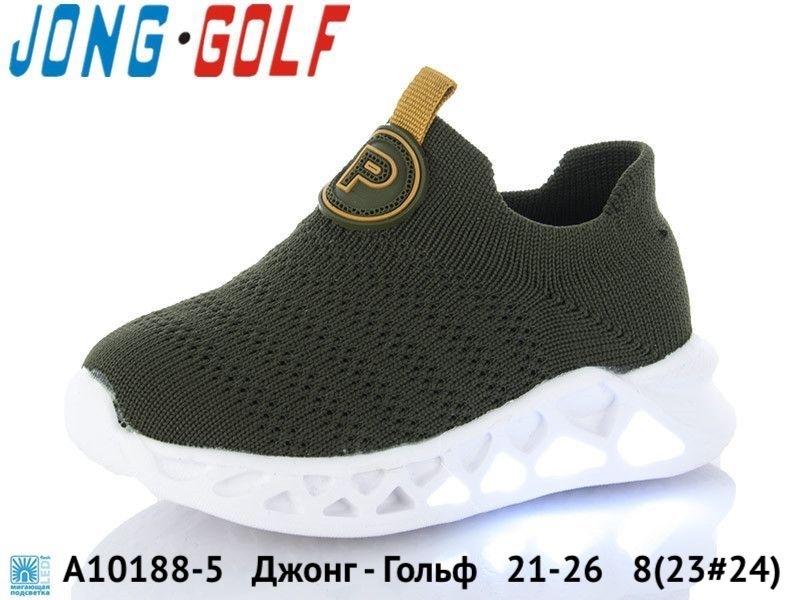 Джонг - Гольф Кроссовки LED A10188-5 21-26