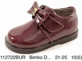 Bimko D... Полуботинки 112722BUR 21-25