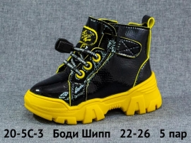 Боди Шипп Ботинки демисезонные 20-5C-3 22-26