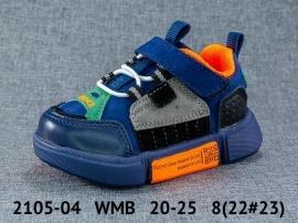 WMB Кроссовки закрытые 2105-04 20-25