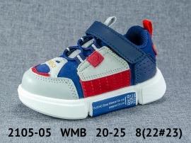 WMB Кроссовки закрытые 2105-05 20-25