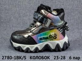 КОЛОБОК Ботинки зимние 2780-1BK/S 23-28
