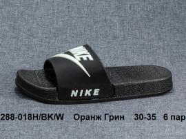 Оранж Грин Шлепки 288-018Н\BK\W 30-35