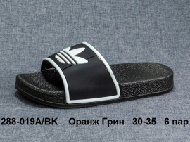 Оранж Грин Шлепки 288-019A\BK 30-35