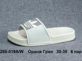 Оранж Грин Шлепки 288-019A\W 30-35