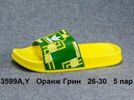 Оранж Грин Шлепки 3599A\Y 26-30