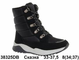 Сказка Ботинки зимние 38217BK 33-37.5