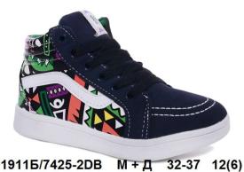 М+Д. Демисезонные ботинки 7425-2DB 32-37