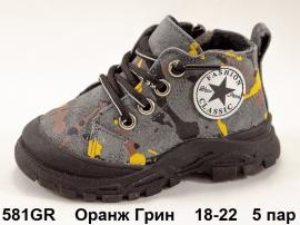 Оранж Грин Ботинки демисезонные 581GR 18-22