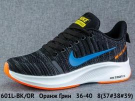 Оранж Грин Кроссовки закрытые 601L-BK/OR 36-40