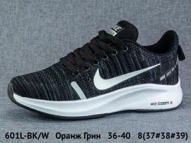 Оранж Грин Кроссовки закрытые 601L-BK/W 36-40