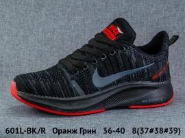 Оранж Грин Кроссовки закрытые 601L-BK/R 36-40