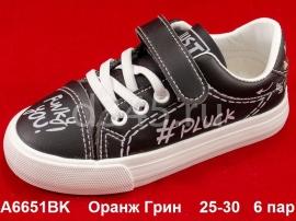 Оранж Грин Слипоны A6651BK 25-30