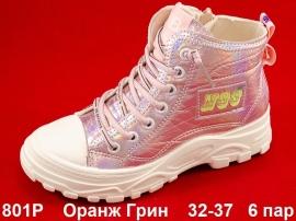 Оранж Грин Ботинки демисезонные 801P 32-37