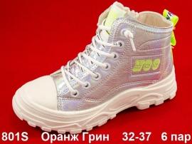 Оранж Грин Ботинки демисезонные 801S 32-37