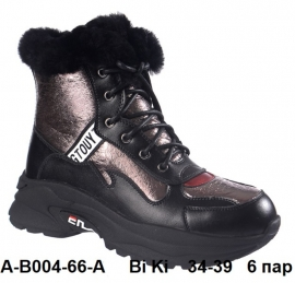 Bi Ki Ботинки зимние A-B004-66-A  34-39