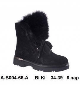 Bi Ki Ботинки зимние A-B004-73-A 34-39
