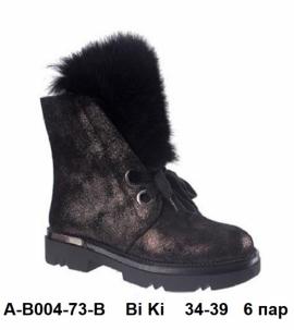 Bi Ki Ботинки зимние A-B004-73-B 34-39