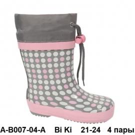 Bi Ki Резиновые сапоги A-B007-04-A 21-24