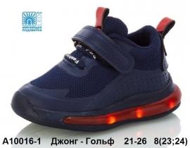 Джонг - Гольф Кроссовки LED A10016-1 21-26