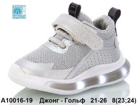 Джонг - Гольф Кроссовки LED A10016-19 21-26