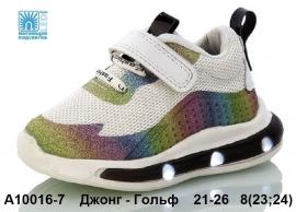 Джонг - Гольф Кроссовки LED A10016-7 21-26