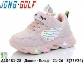 Джонг - Гольф Кроссовки LED A10481-28 21-26