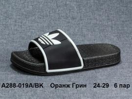 Оранж Грин Шлепки A288-019A\BK 24-29