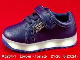 Джонг - Гольф Кроссовки LED A5204-1 21-26