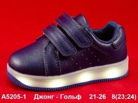 Джонг - Гольф Кроссовки LED A5205-1 21-26