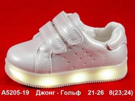 Джонг - Гольф Кроссовки LED A5205-19 21-26
