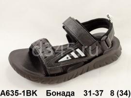 Бонада. Босоножки A635-1BK 31-37