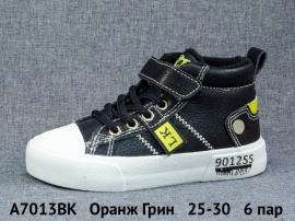 Оранж Грин Ботинки демисезонные A7013BK 25-30