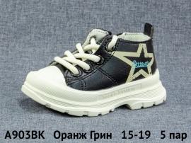 Оранж Грин Ботинки демисезонные A903BK 15-19