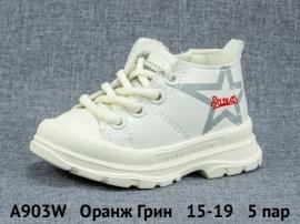 Оранж Грин Ботинки демисезонные A903W 15-19