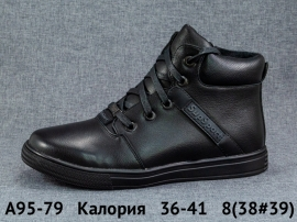 Калория Ботинки демисезонные A95-79 36-41