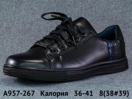 Калория Туфли A957-267 36-41