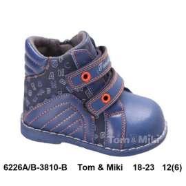 Том. Мики. Д/С ботинки B-3810-B 18-23
