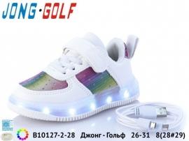 Джонг - Гольф Кроссовки LED B10127-2-28 26-31