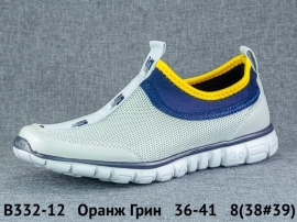 Оранж Грин Кроссовки летние B332-12 36-41