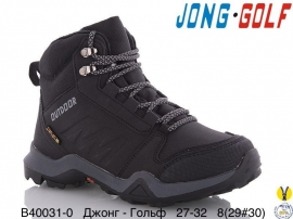Джонг - Гольф Ботинки зимние B40031-0 27-32