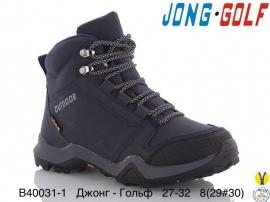 Джонг - Гольф Ботинки зимние B40031-1 27-32