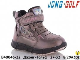Джонг - Гольф Ботинки зимние B40046-22 27-32