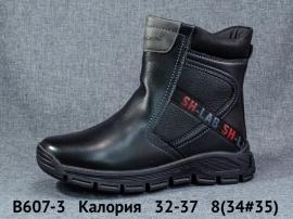Калория Ботинки зимние B607-3 32-37