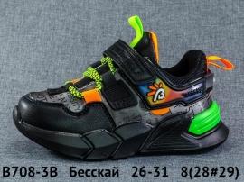 Бесскай Кроссовки закрытые B708-3B 26-31