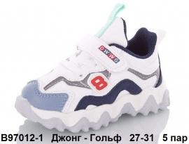 Джонг - Гольф Кроссовки закрытые B97012-1 27-31