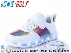 Джонг - Гольф Кроссовки LED C10128-2-28 31-36