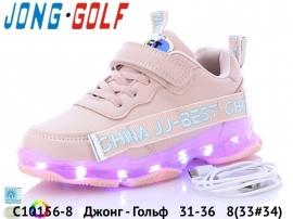Джонг - Гольф Кроссовки LED C10156-8 31-36